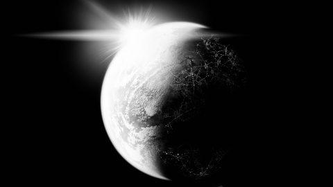 THE BEGINNING OF MONOCHROME WORLD
