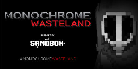 MONOCHROME partners with THE SANDBOX to expand their black and white, dystopian world to an RPG adventure game.